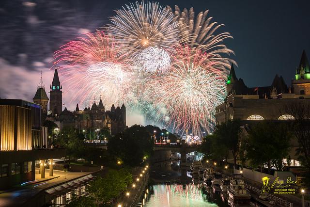 Lac Leamy Fireworks 2018 - Grande Finale