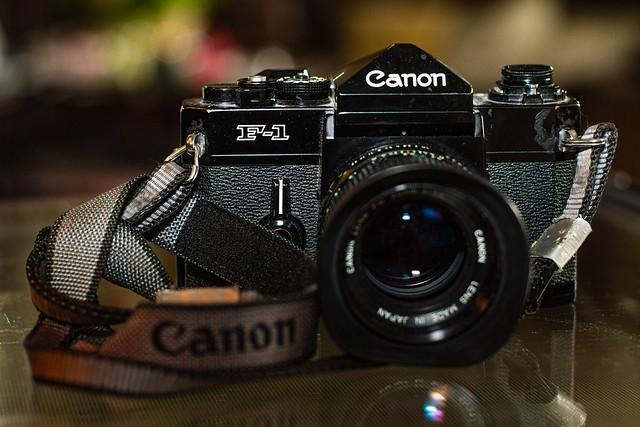 20210524 Canon f1n & Canon 50mm 1.4 FD