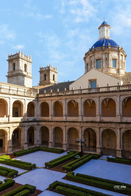 Claustro Monasterio de San Miguel de los Reyes