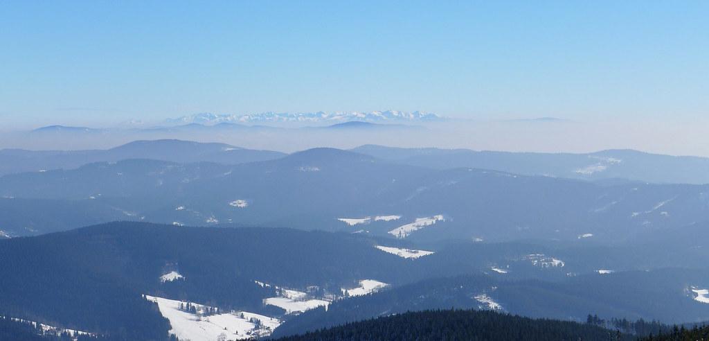 Lysá hora Moravskoslezské Beskydy Česko foto 09