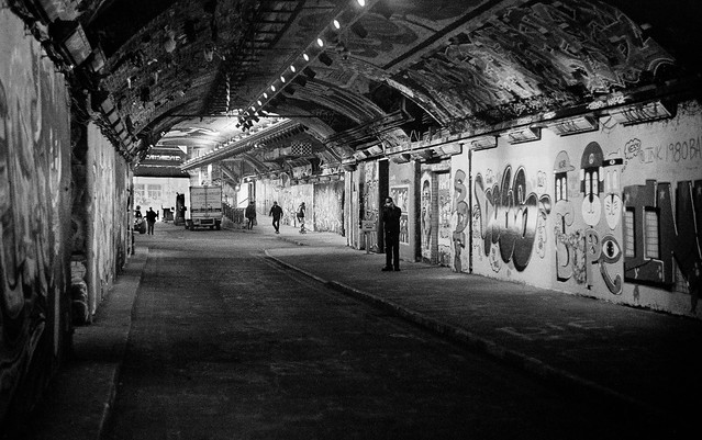 Leake Street Arches, Waterloo.