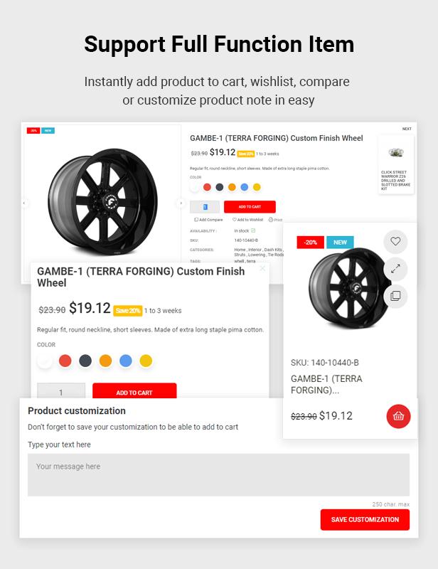 Spares - Auto Parts & Car Accessories Shop Elementor Prestashop Theme