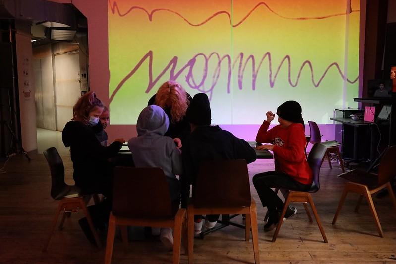 Inter-symmetric Workshop 1 Tvoríme grafické partitúry kreslením (28.11.2020)