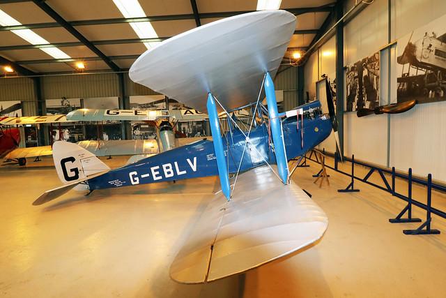 G-EBLV  -  De Havilland DH60 Cirrus Moth c/n 188  -  EGTH 22/5/21