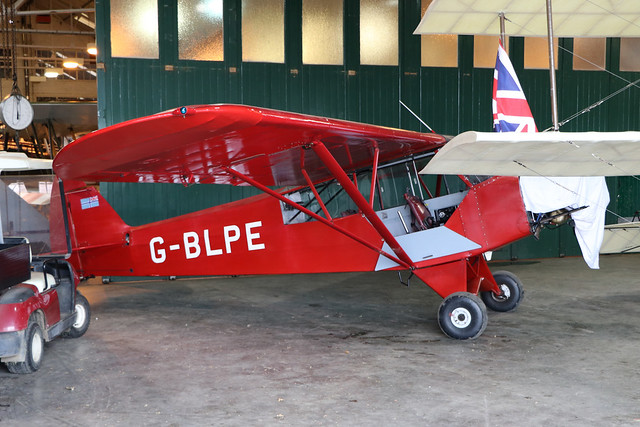 G-BLPE  -  Piper PA-18 95 Super Cub c/n 18-3084  -  EGTH 22/5/21