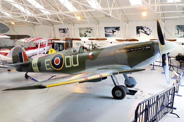 G-AWII/AR501  -  Vickers Supermarine Spitfire LF.Vc c/n WASP/20/223  -  EGTH 22/5/21