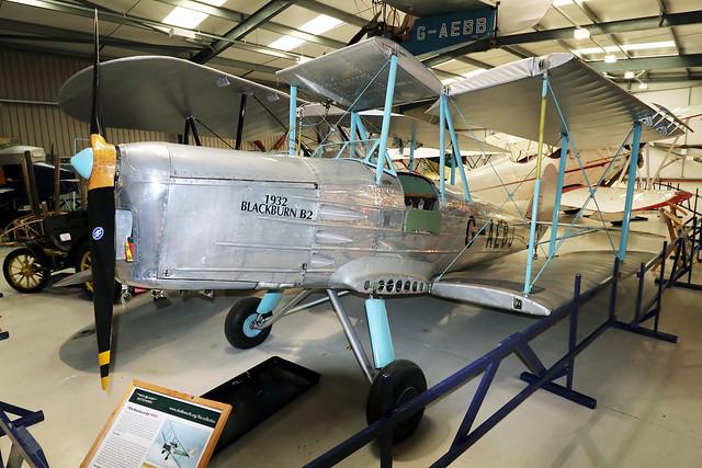 G-AEBJ  -  Blackburn B.2 c/n 6300/8  -  EGTH 22/5/21