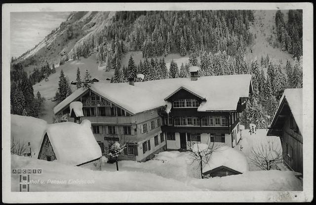 ArchivTappen233A902 Gasthof und Pension, Einödsbach, 1920er