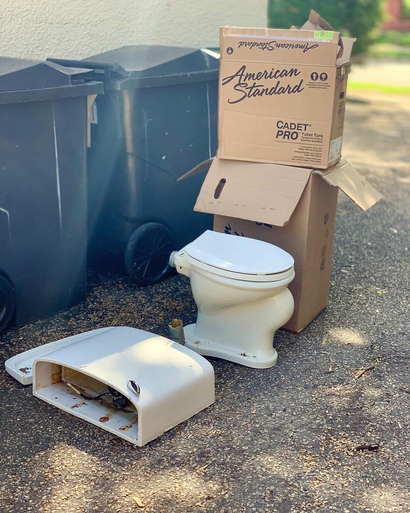 Cya, 99 year-old toilet!