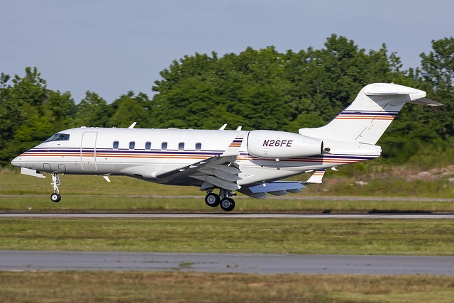 N26FE- Bombardier Challenger 300 - Fedex Corp. -  KPDK - May 2021
