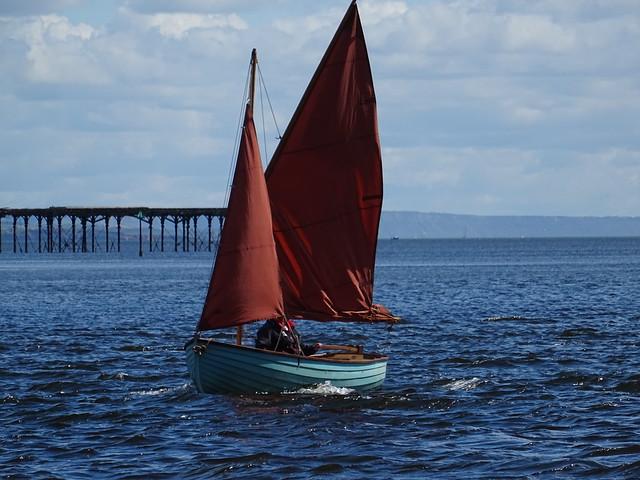 Red Sails off Shaldon May 2021