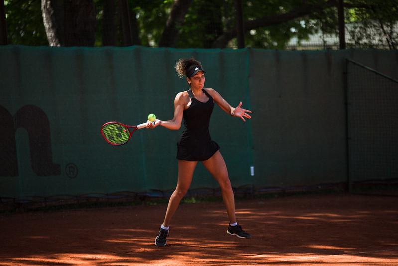 """Starptautiskās ITF pasaules tenisa tūres W25 kategorijas sacensības sievietēm """"Liepaja Open"""" 2.diena (kvalifikācija). Foto: Mārtiņš Vējš / 2nd day of ITF Women's World Tennis Tour W25 category """"Liepaja Open"""" (qualifiers). Photo: Mārtiņš Vējš"""