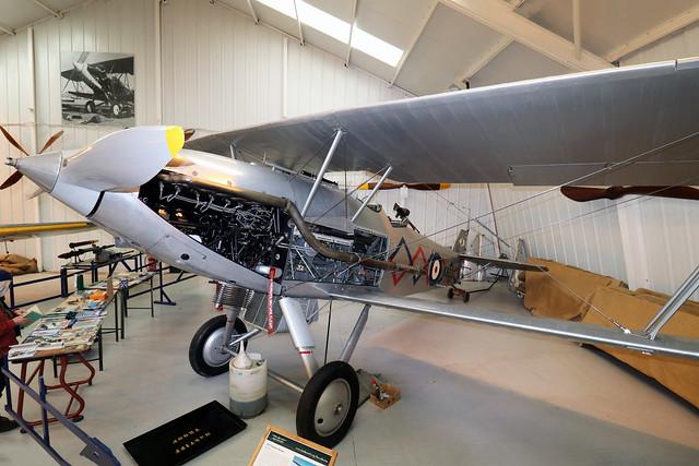 G-BTVE  -  Hawker Demon c/n 1  -  EGTH 22/5/21