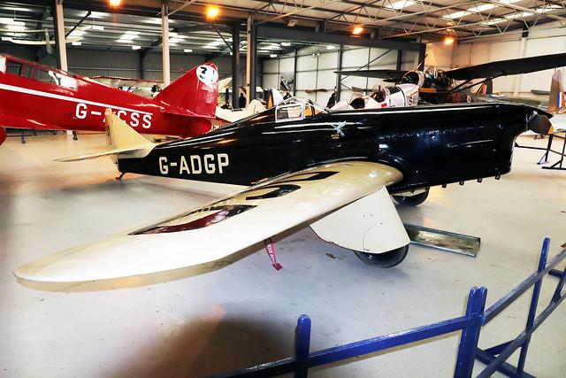 G-ADGP  -  Miles Hawk Speed Six M.2L c/n 160  -  EGTH 22/5/21