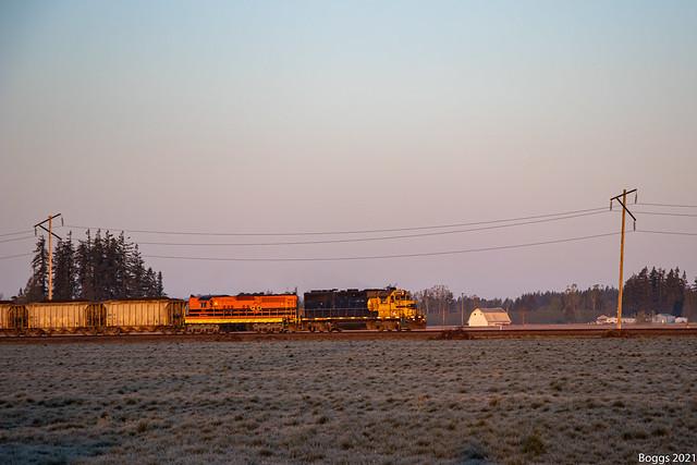 PNWR 2306 and 1854 at Loganville Oregon