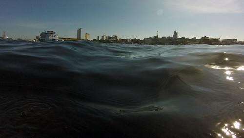 Manaus, AM 24/05/2021 - Cheia do rio Negro vista do centro de Manaus a partir do rio (Foto: Alberto César Araújo/Amazônia Real)
