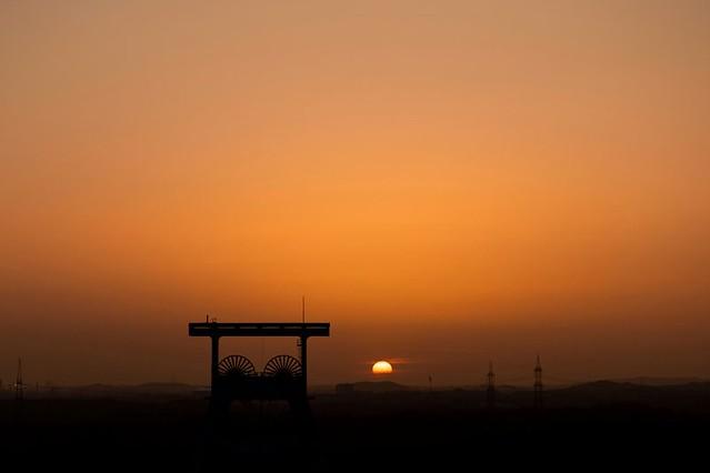 Goldene Stunde im Ruhrpott