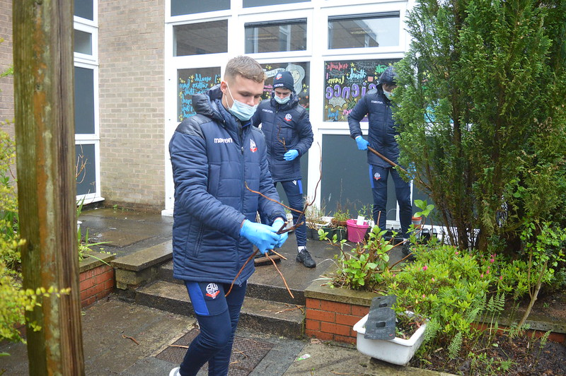Bolton Wanderers first-year apprentices at Sharples School (15)