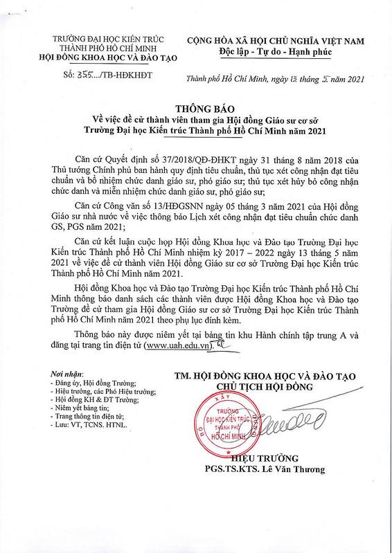 355- Thong bao ve viec de cu thanh vien tham gia HĐ Giao su co so Truong ĐHKT TP.HCM_Page_1