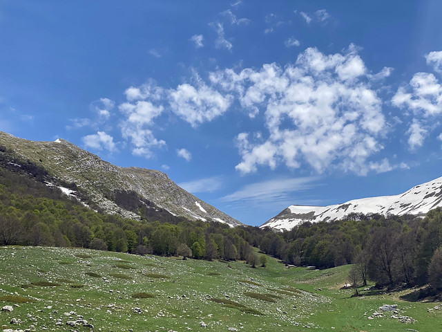 La valle del Morretano