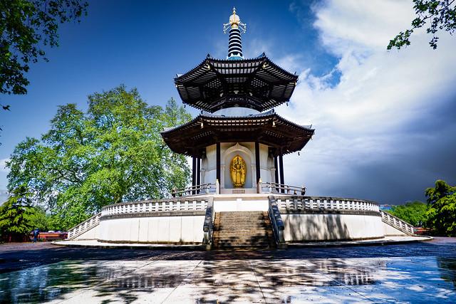 Peace Pagoda, Battersea Park