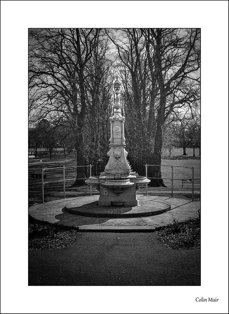 120year old drinking fountain - Industar 61, 52mm, Kilmarnock, Kay Park, Monument, 1/500th, f11, Hand Held, 7th April 2021