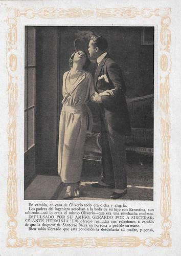 Francesca Bertini and Livio Pavanelli in La superbia