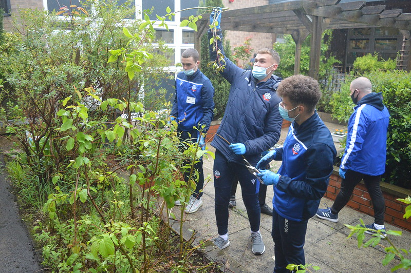 Bolton Wanderers first-year apprentices at Sharples School (8)