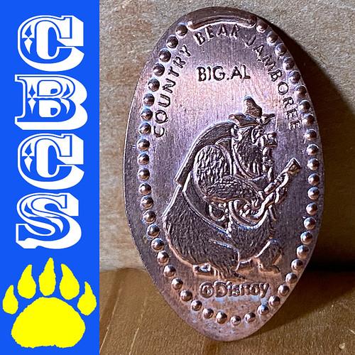 2020 Walt Disney World Big Al Pressed Penny - CBCS 309