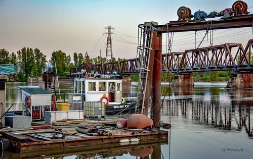 Workings on and above the Fraser River - BC