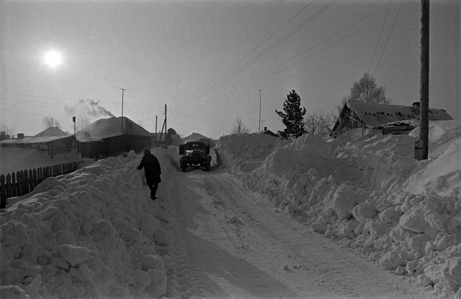 1970. Зима в Сибири. Томская область