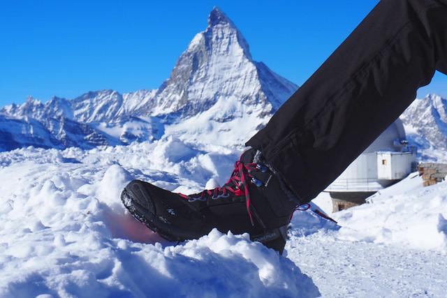 Snow boots, Zermatt