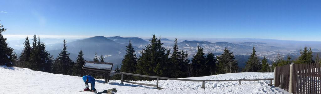 Lysá hora Moravskoslezské Beskydy Česko foto 15