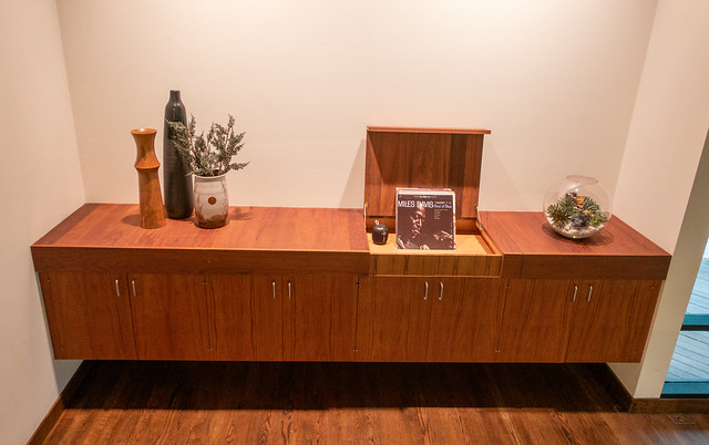 Credenza w/ Built-In Record Player