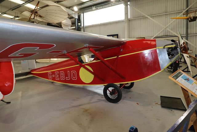 G-EBJO  -  Air Navigation & Engineering Company ANEC II c/n 2  -  EGTH 22/5/21