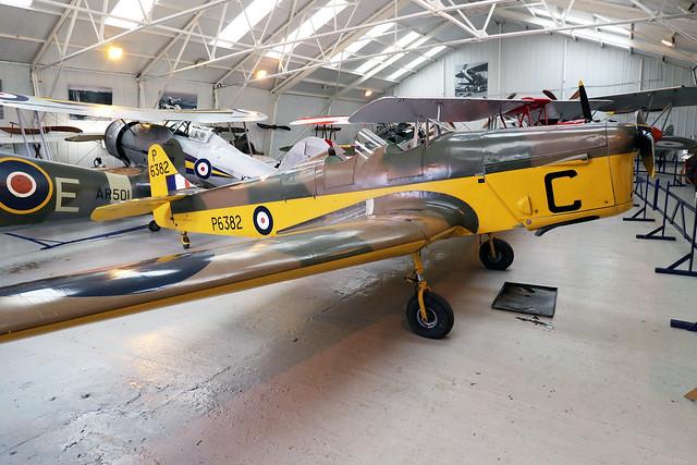 G-AJRS/P6382  -  G-AJRS Miles M.14A Hawk Trainer III c/n 1750  -  EGTH 22/5/21