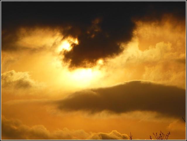 Clouds & The Sun ..