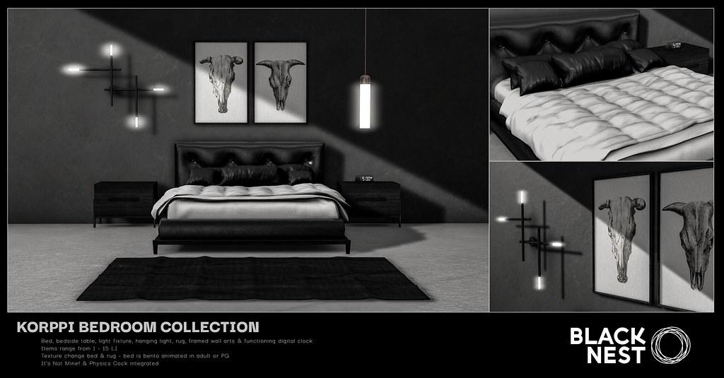 BLACK NEST | Korppi Bedroom Collection | Uber