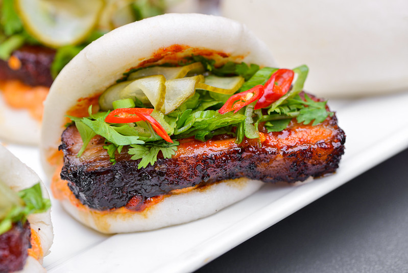 Spicy Pork Belly Buns