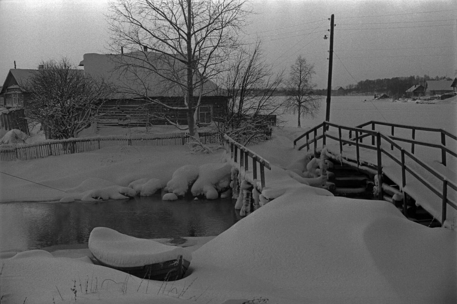 1980. Первое дыхание зимы, Колхоз Святозерский, Карелия