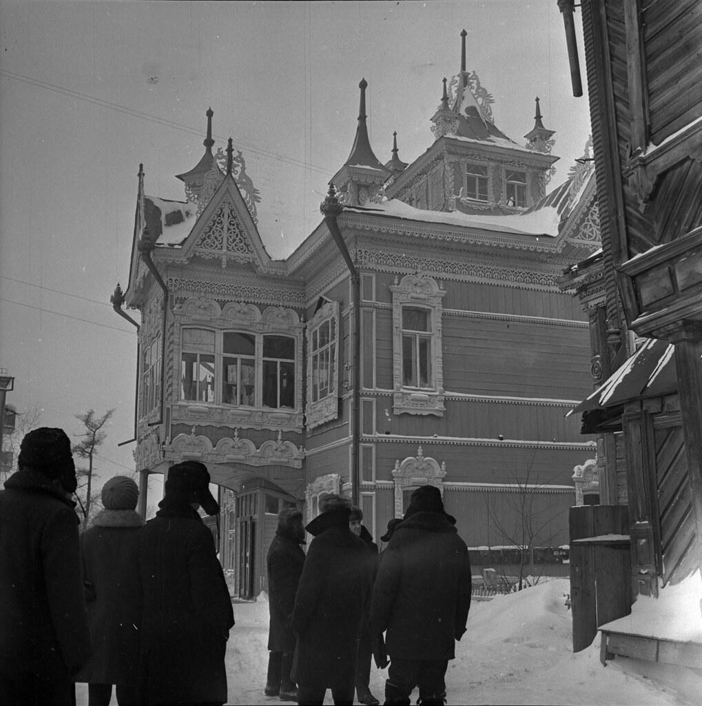 1973. Кружево Томских улиц