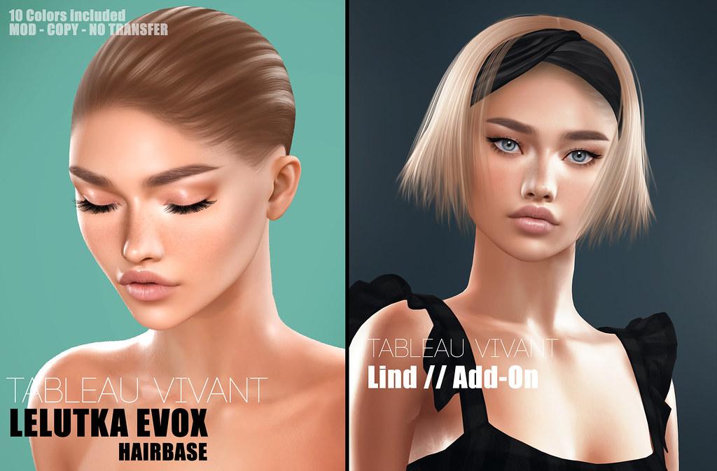 Tableau Vivant – leLutka EvoX Hairbase 09 & Lind Add-on