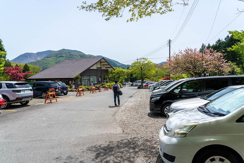 金時山の駐車場