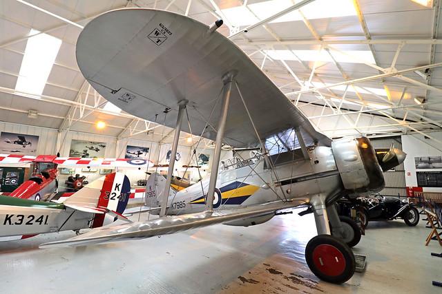 G-AMRK/K7985  -  Gloster Gladiator G.37 c/n 427  -  EGTH 22/5/21