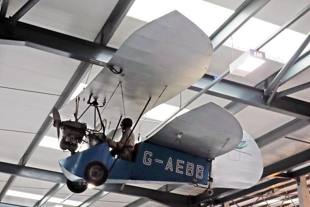 G-AEBB  -  Amateur built Pou-du-Ciel HM.14 c/n KWO.1  -  EGTH 22/5/21