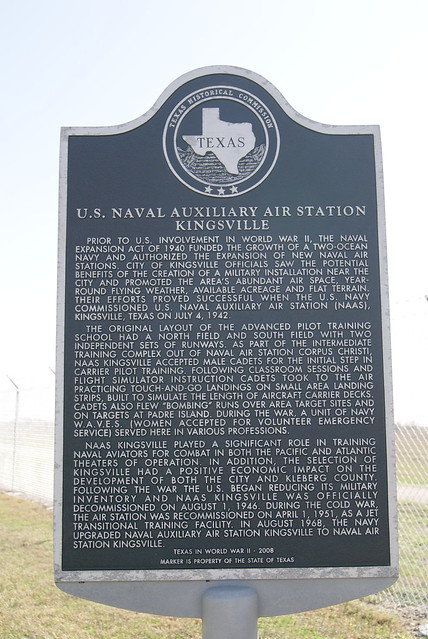 U. S. Naval Auxiliary Air Staion Kingsville