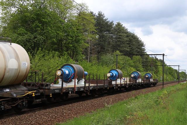 Rmms wagons  met ankers ,! - Langdorp - 20/05/2021.