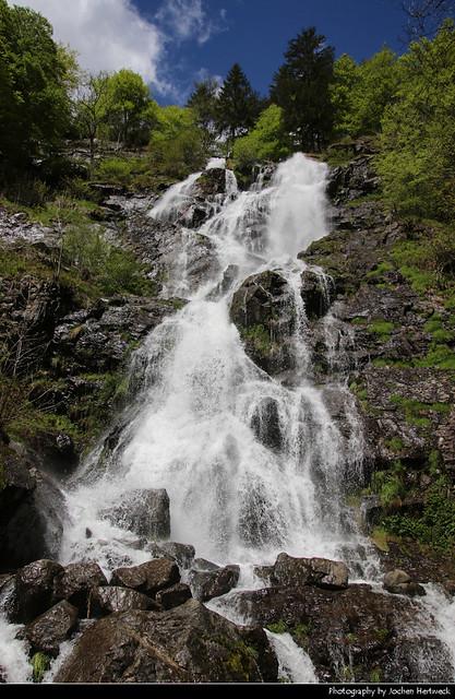 Todtnauer Wasserfälle, Black Forest, Germany