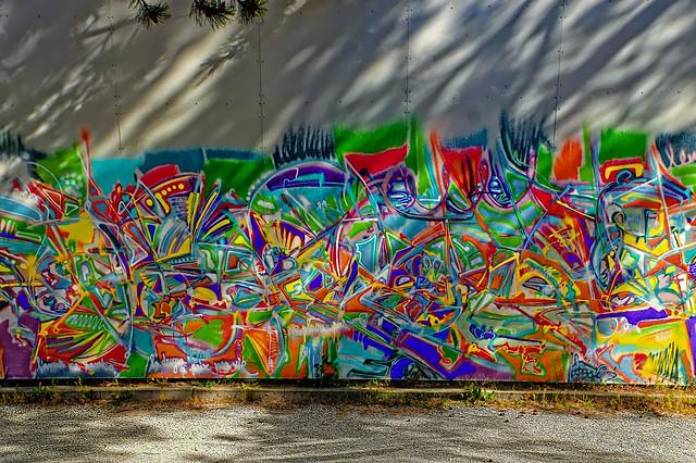 Mur et ombre