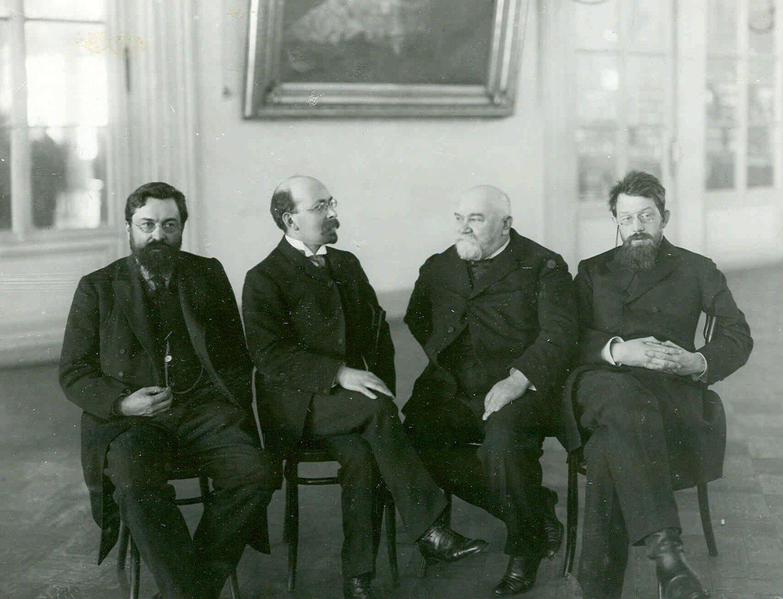 1907. Группа депутатов Второй Государственной Думы